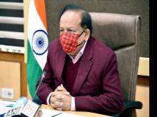 Union Minister for Health & Family Welfare Dr. Harsh Vardhan
