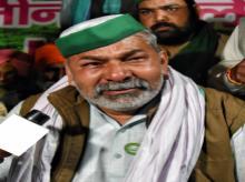 Bharatiya Kisan Union leader Rakesh Tikait