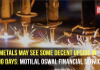 Base metals may see some decent upside in coming days: Motilal Oswal Financial Services